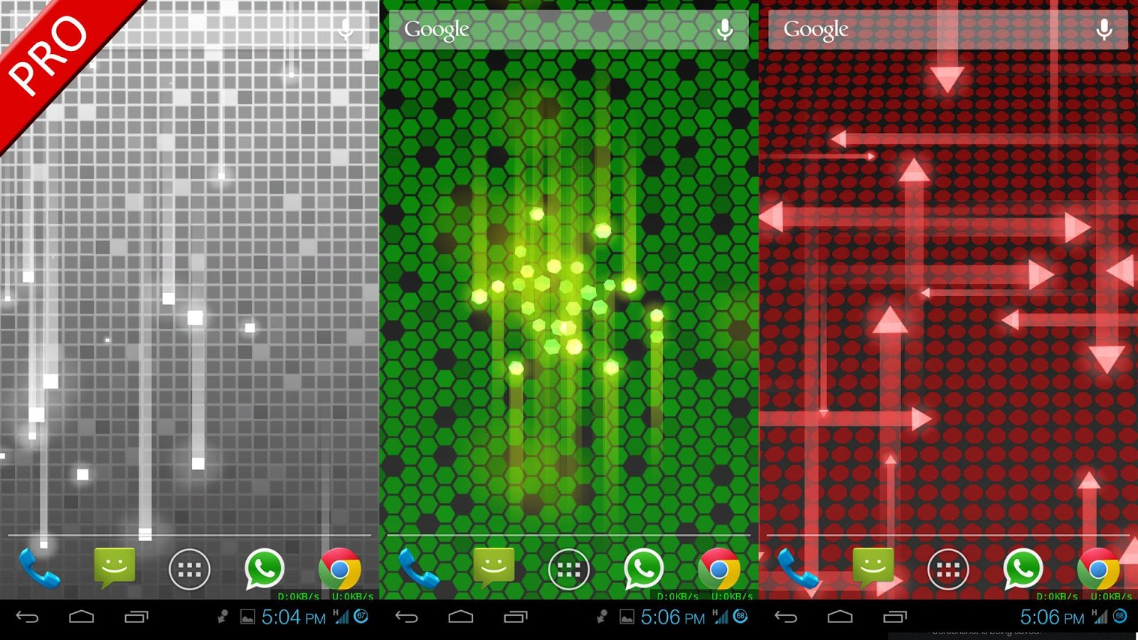 Next Nexus Live Wallpaper - screenshot
