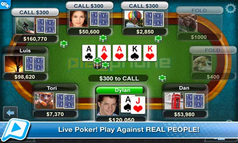 Poker LIVE! - screenshot