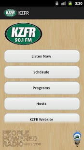 KZFR Radio - screenshot thumbnail
