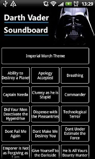 Darth Vader Soundboard - screenshot thumbnail