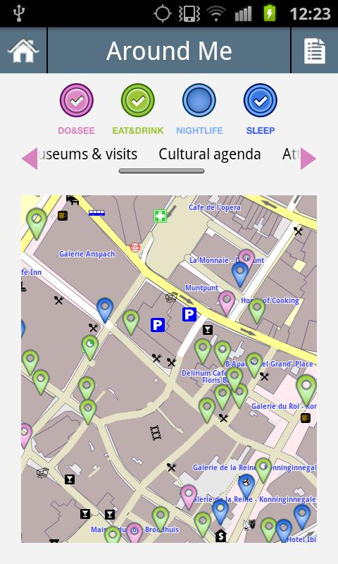 Visit Brussels - screenshot