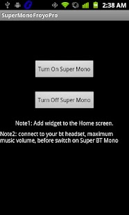 Super BT Mono Pro - Don't buy - screenshot thumbnail