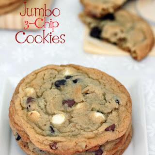 Jumbo Triple Chip Cookies