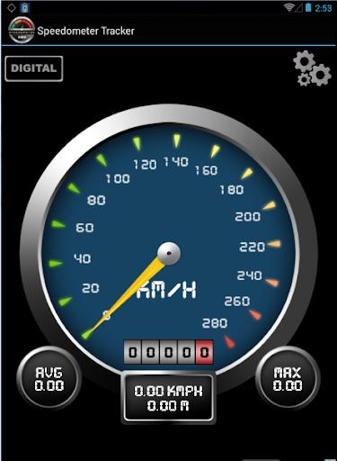 Speedometer Tracker