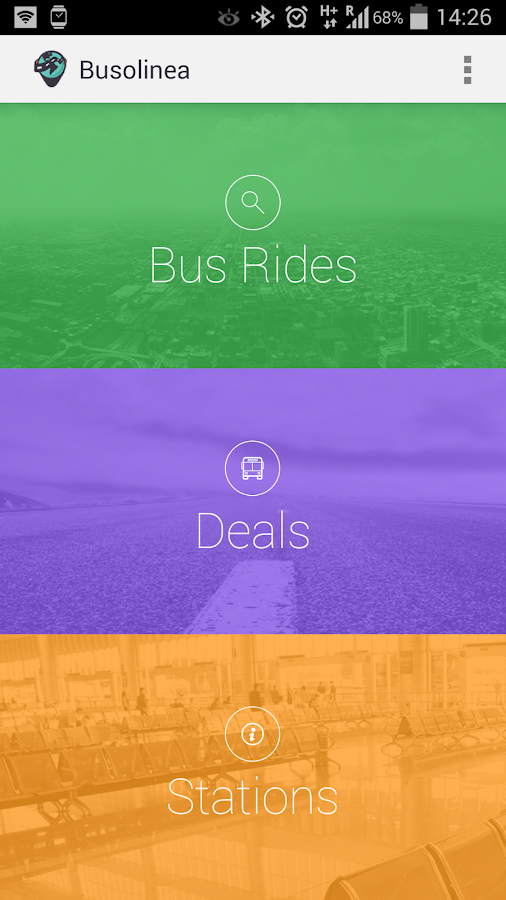 Busolinea Compare Bus Tickets- screenshot