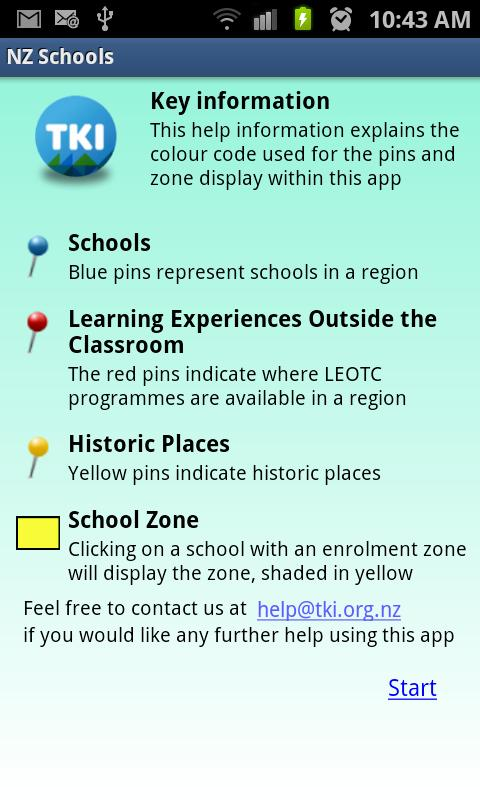 NZ Schools - screenshot