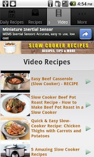 Slow Cooker Recipes!! - screenshot thumbnail