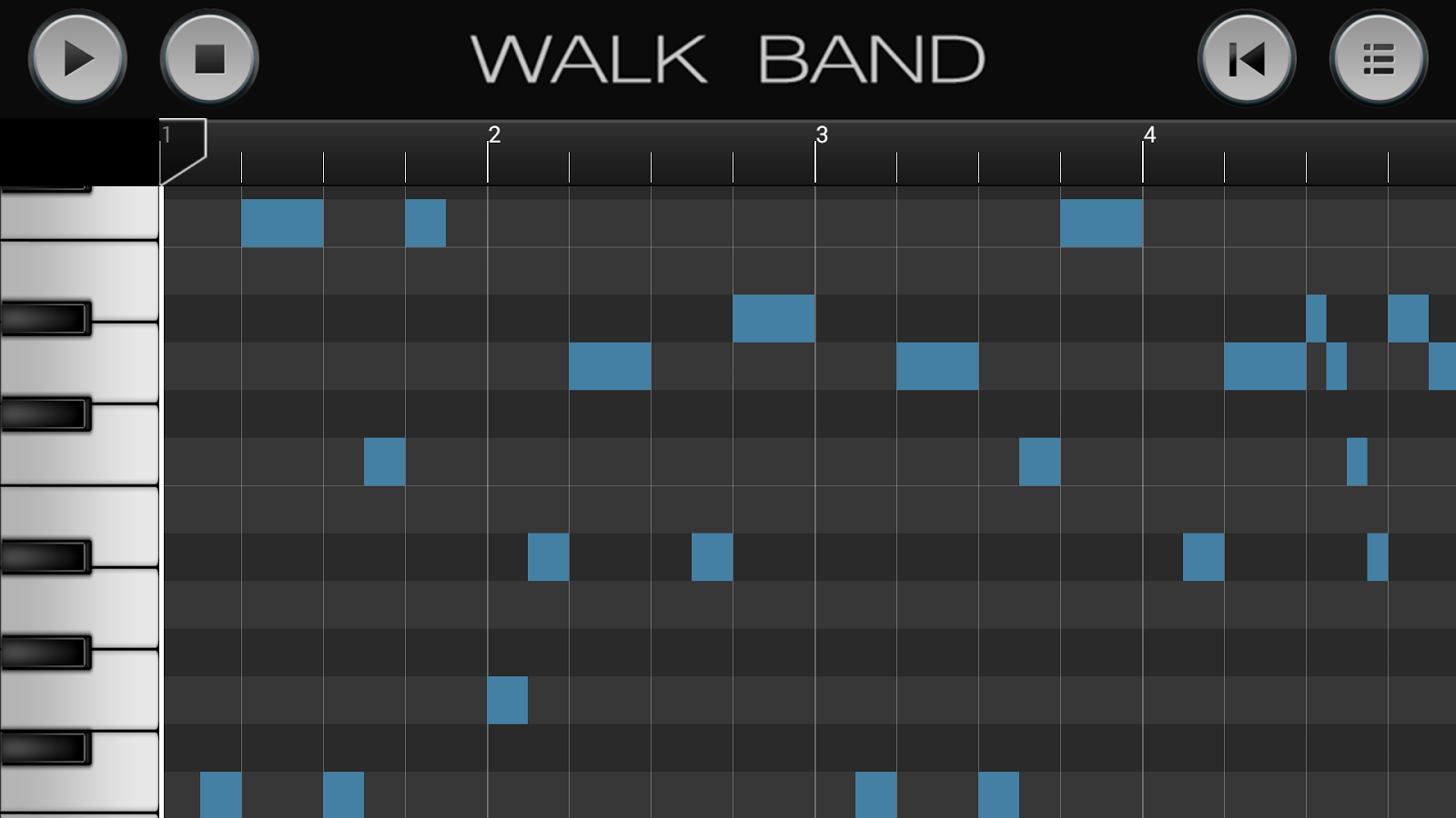 Walk Band: Piano,Guitar,Drum.. - screenshot
