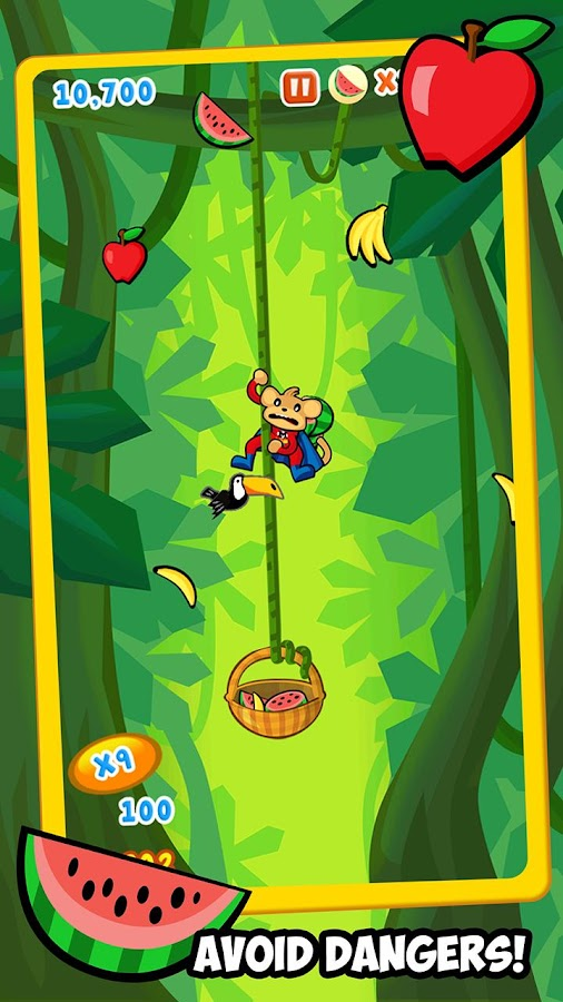 Fruit Monkeys Free - screenshot