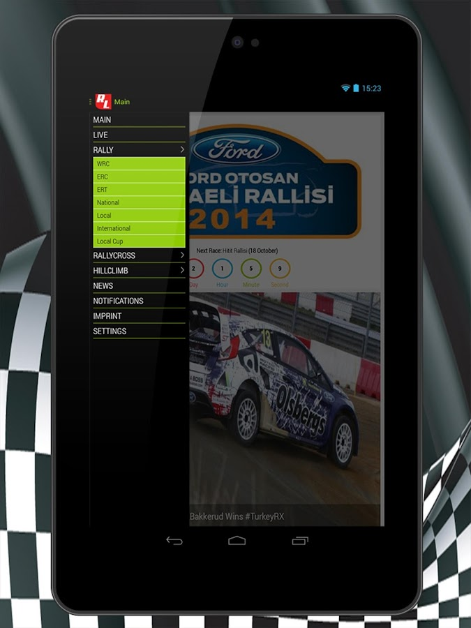 RallyLive- screenshot