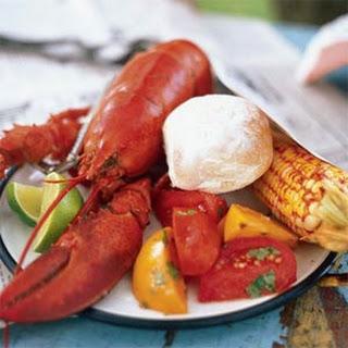 Steamed Lobster.