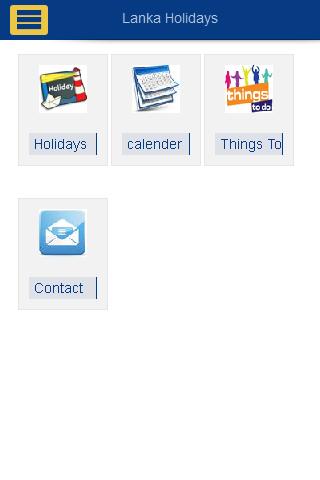 SriLanka Holiday Calendar 2014