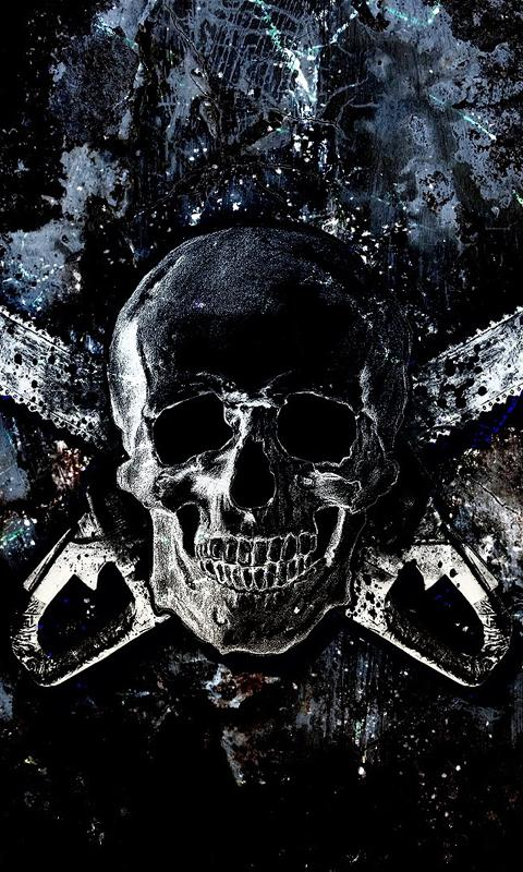 Skull Live Wallpapers - screenshot