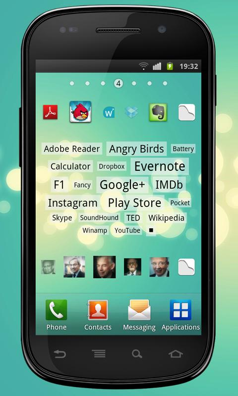 Imgy apps & contacts widgets - screenshot