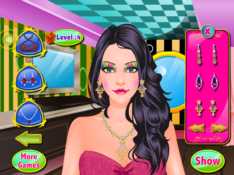 eyes spa girls games - screenshot