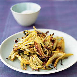 Caramelized Roasted Fennel with Fennel Seeds.