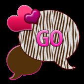 GO SMS THEME/ChocolateZebra2