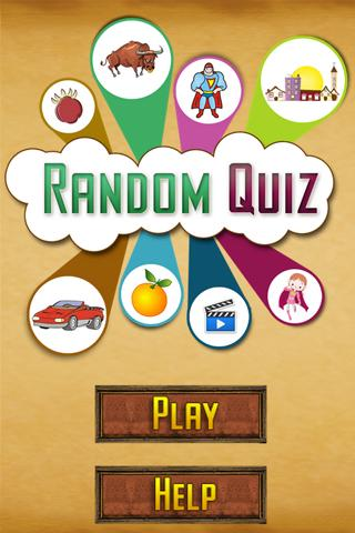 Random Quiz - screenshot