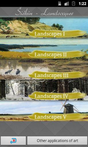 Šiškin's Landscapes Art Walls