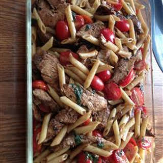 Balsamic Chicken and Pasta.