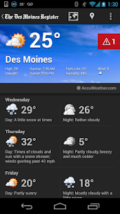 Des Moines Register - screenshot thumbnail