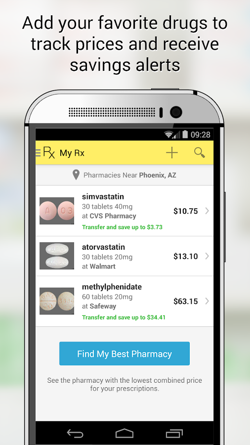 GoodRx Drug Prices and Coupons- screenshot