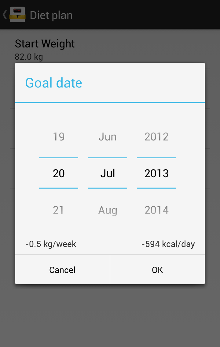 Libra - Weight Manager Screenshot 4