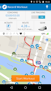 Run with Map My Run v16.1.0