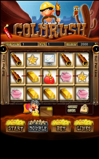 Gold Rush Slot Machine HD Screen Capture 1