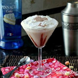 Chocolate Coconut Caketini.