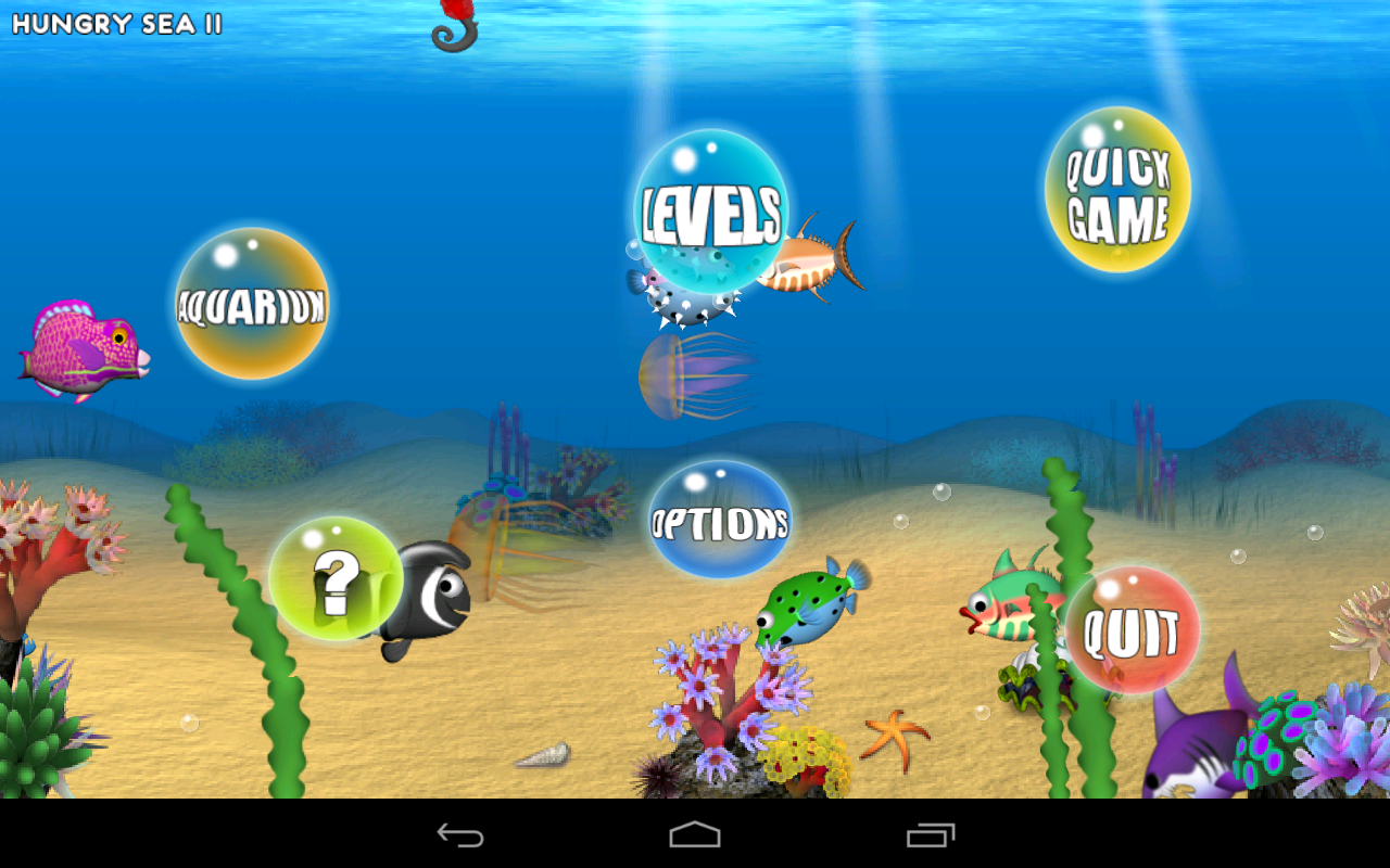 Hungry Sea Lite- screenshot
