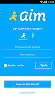 Screenshot of AIM