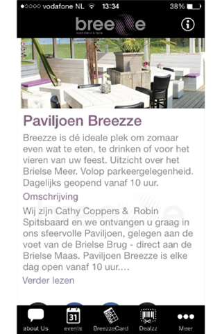 Breezze: screenshot