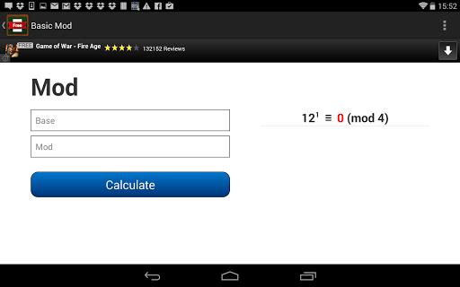 Basic Mod Calculator  screenshots {n} 3