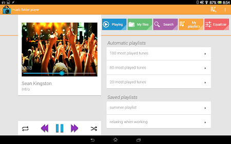 Music Folder Player (original) 5.2.1 screenshot 351924