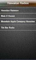 Screenshot of Hawaiian Radio Hawaiian Radios