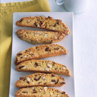 Cornmeal Biscotti with Dates and Almonds.