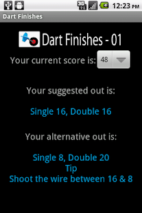 Dart Finishes - screenshot thumbnail