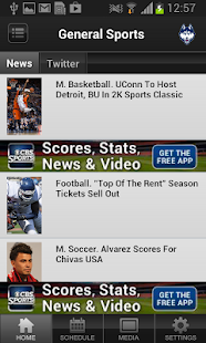 UConn Athletics - screenshot thumbnail