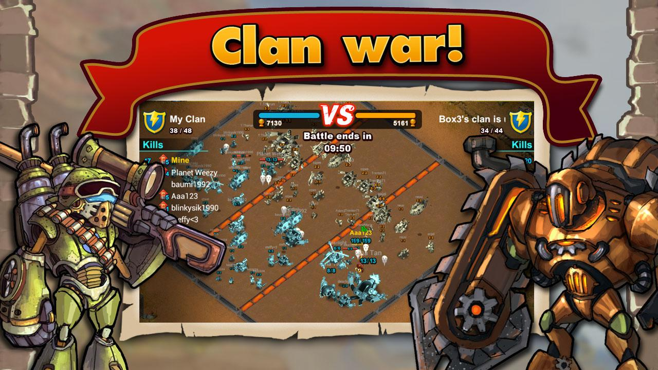 Clash of Heroes- screenshot