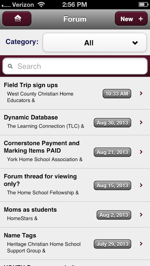 Homeschool-Life - screenshot