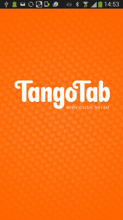 TangoTab- screenshot
