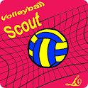 Volleyball scout advantage icon
