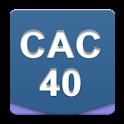 CAC 40 Widget logo