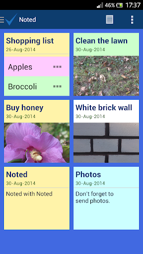 Noted - Color Notes app