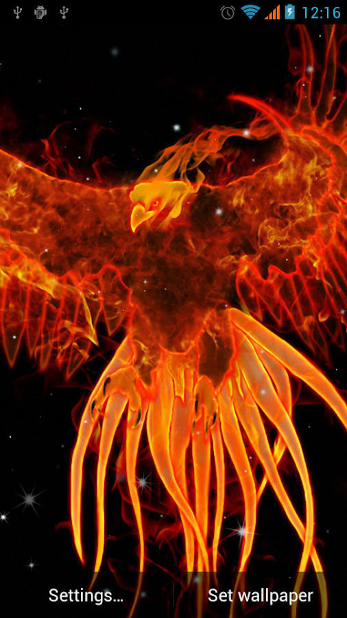 Phoenix Live Wallpaper - Android Apps on Google Play
