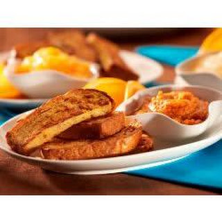 French Toast Fingers with Fruit Dips