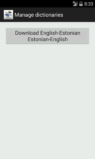 玩教育App|English-Estonian Dictionary免費|APP試玩