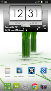 3D Flip Clock & World Weather - screenshot thumbnail