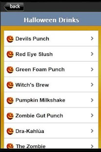 Halloween Recipes - screenshot thumbnail